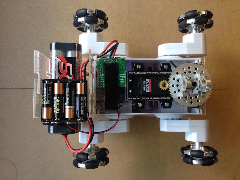Inspection Robot Top